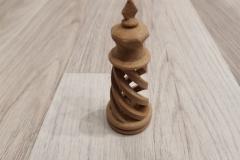Spiral chess set BioWOOD - king