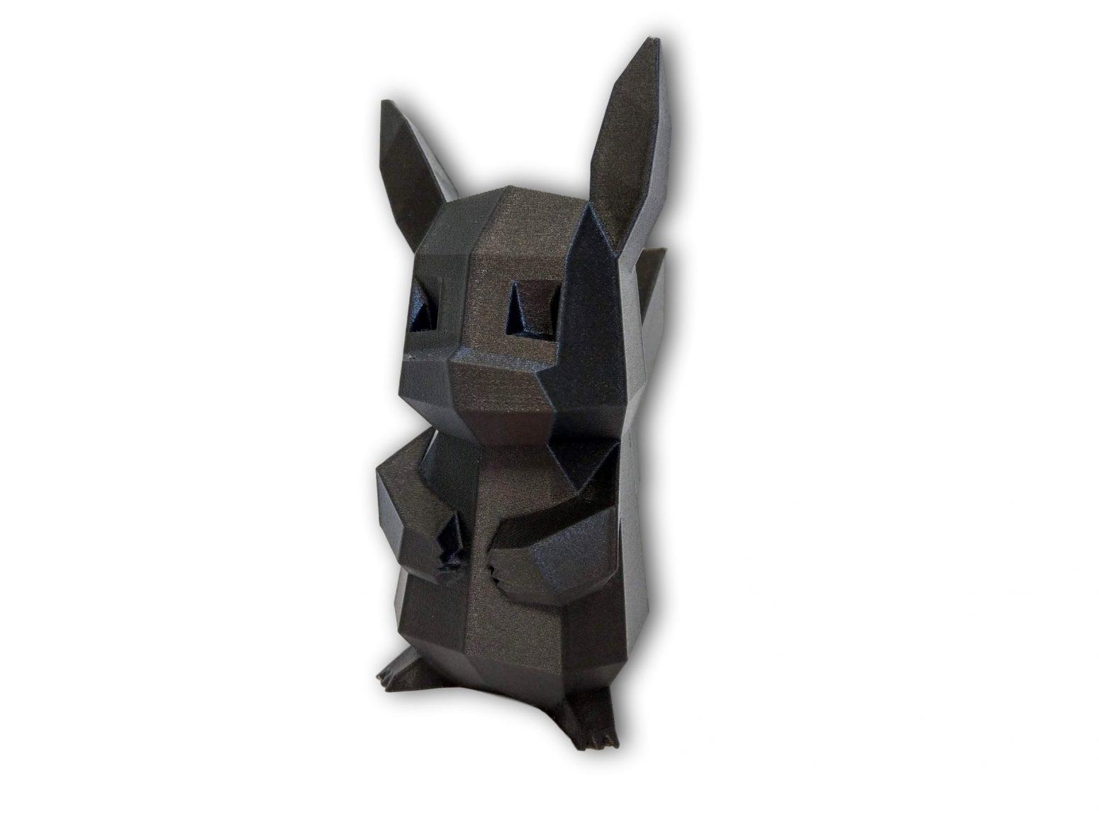Filament Rosa 3D przykładowy wydruk 3: Pikachu