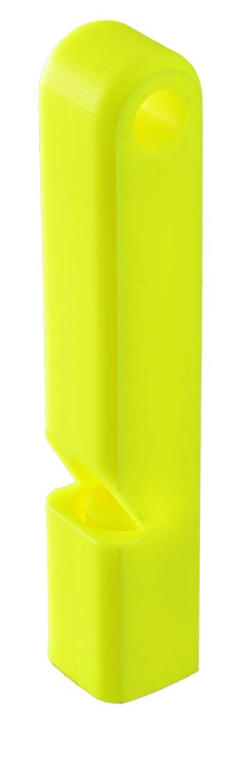 neon yellow whistle