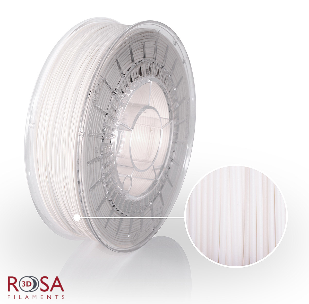 PLA Plus ProSpeed White ROSA3D