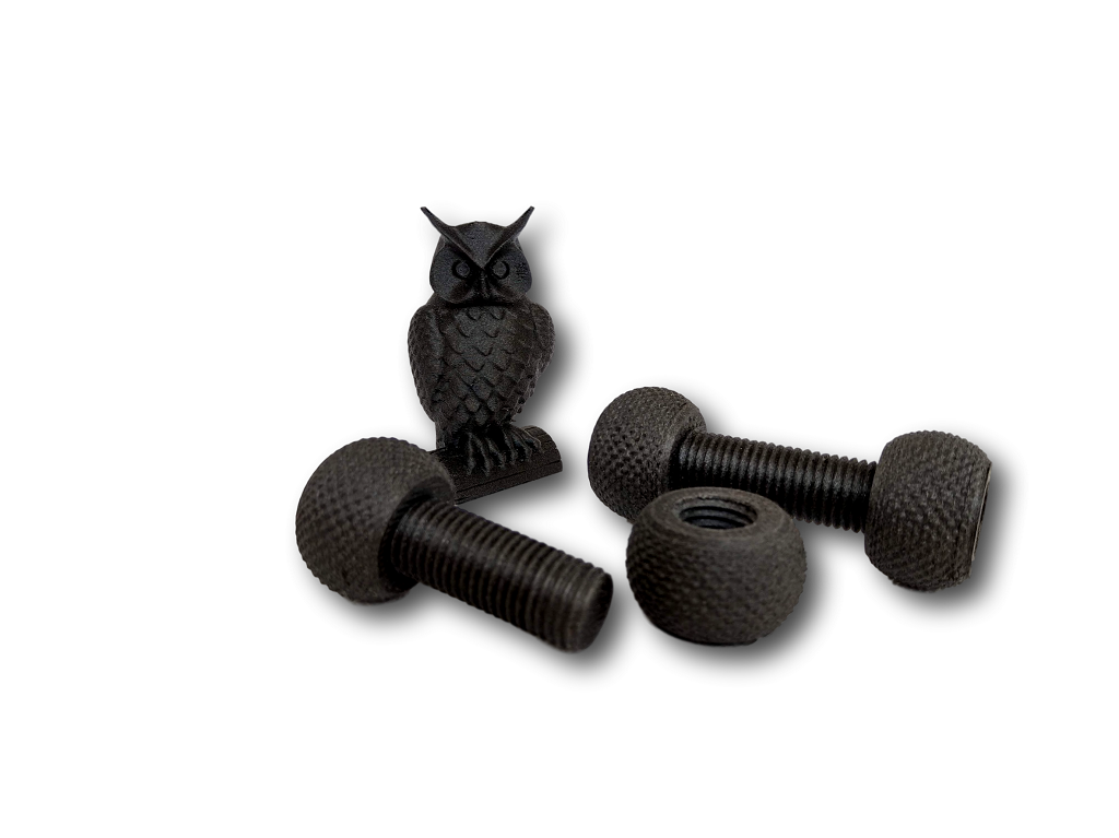 owl and bolts w/ nuts PETG+CF