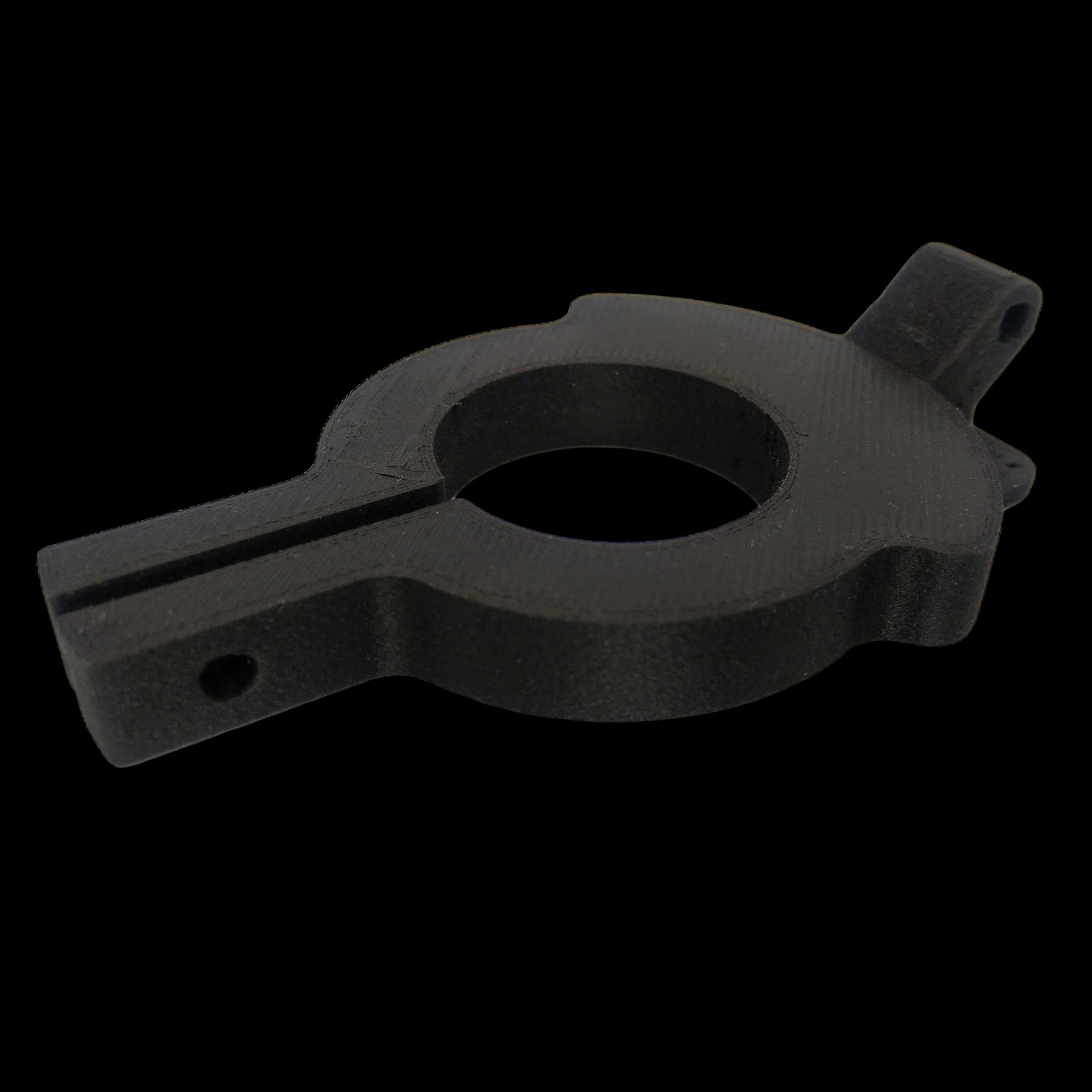 PA12CF15 holder - wydruk z drukarki 3D