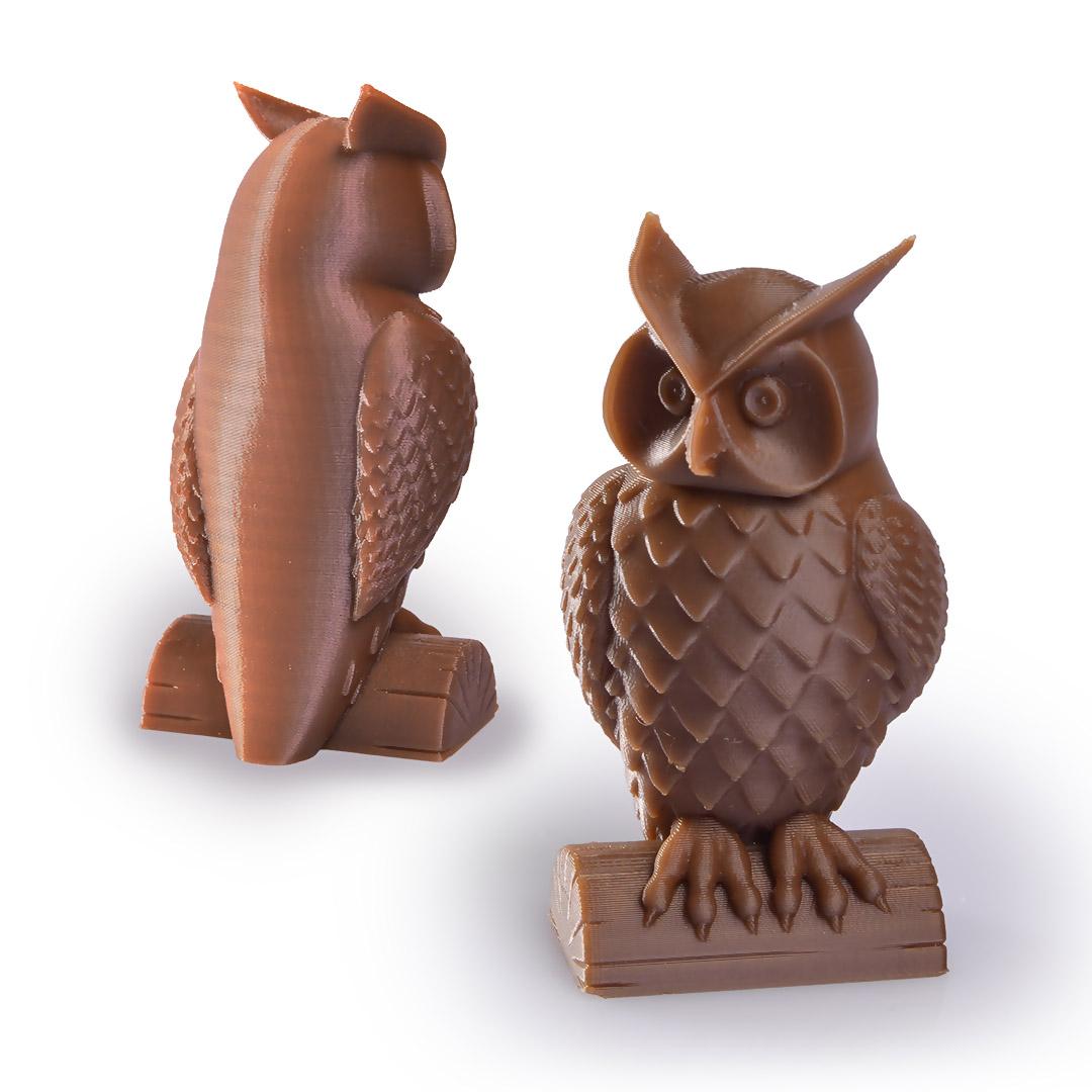 Filament PET-G Standard_pearl_gold_owls