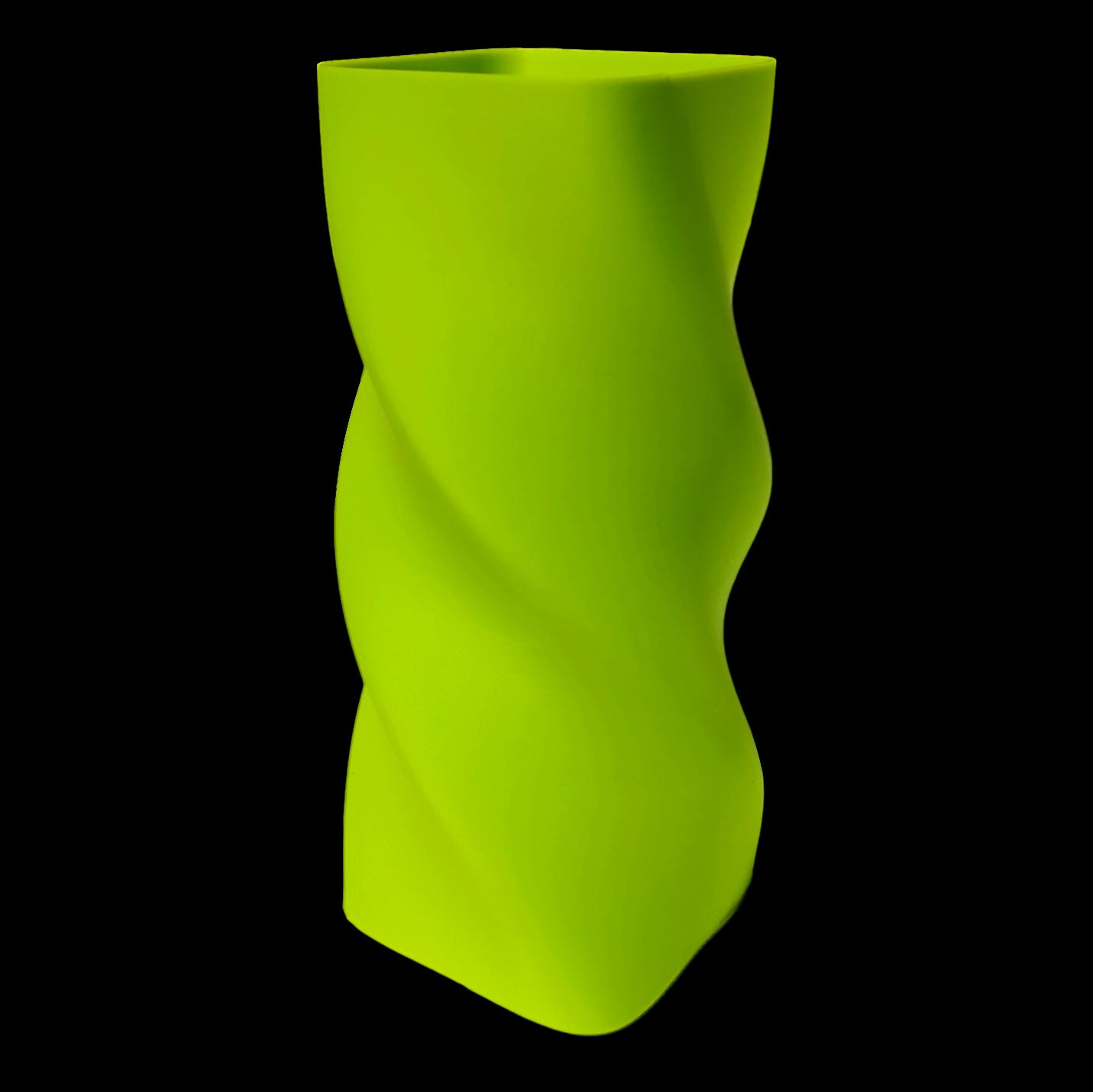 apple green vase