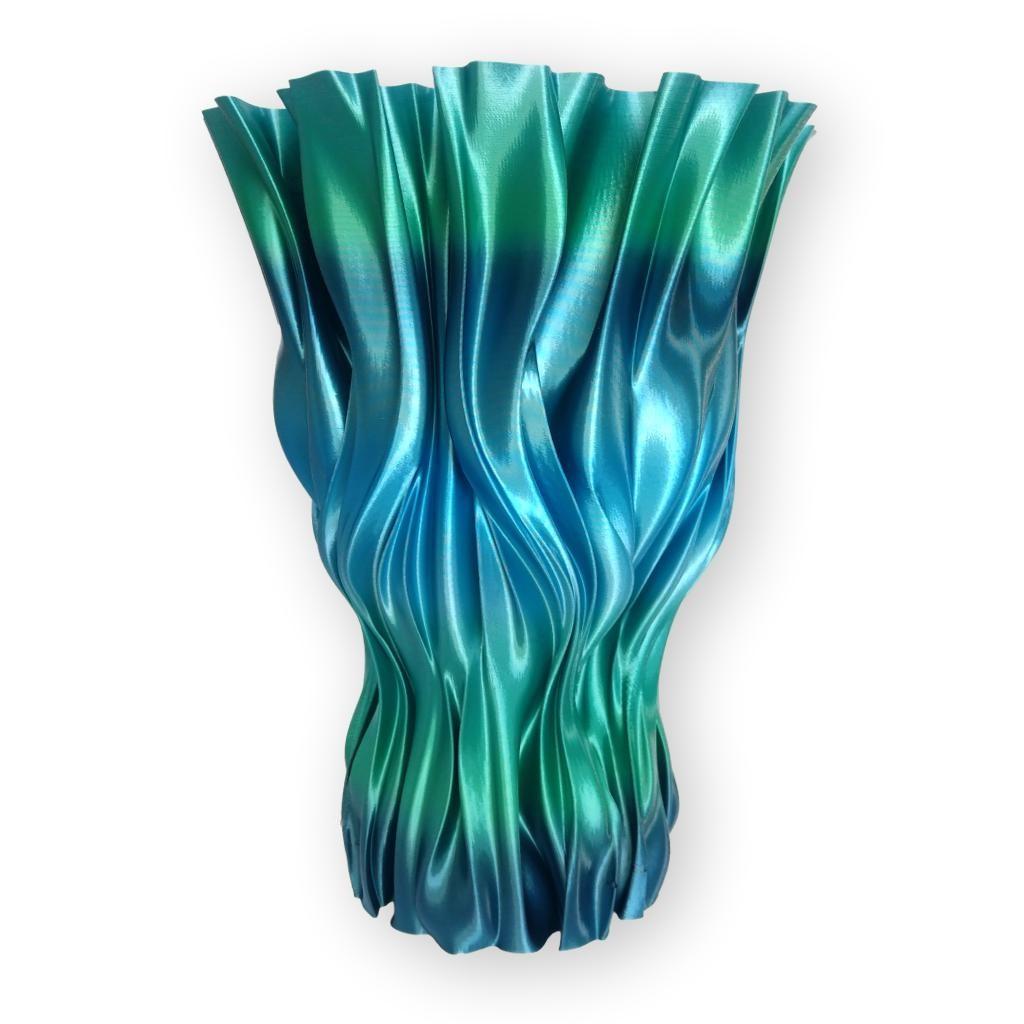 ROSA3D PLA RaInbow SIlk Ocean vase