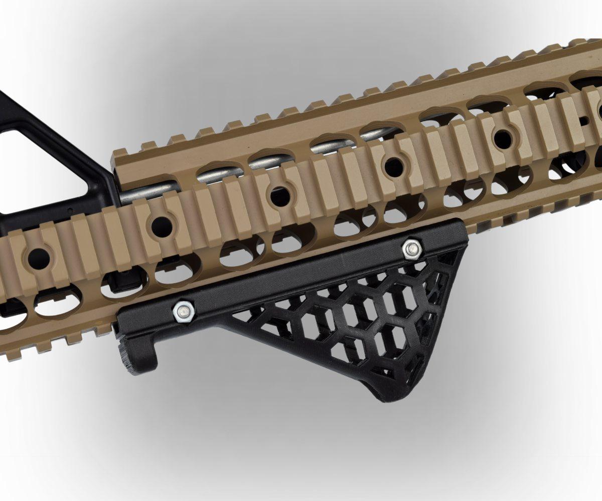 ROSA3D PLA CarbonLook Attached Gun Grip